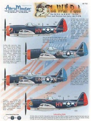 The Wolf Pack, Pt VII (P-47 Thunderbolt,  (Vista 1)