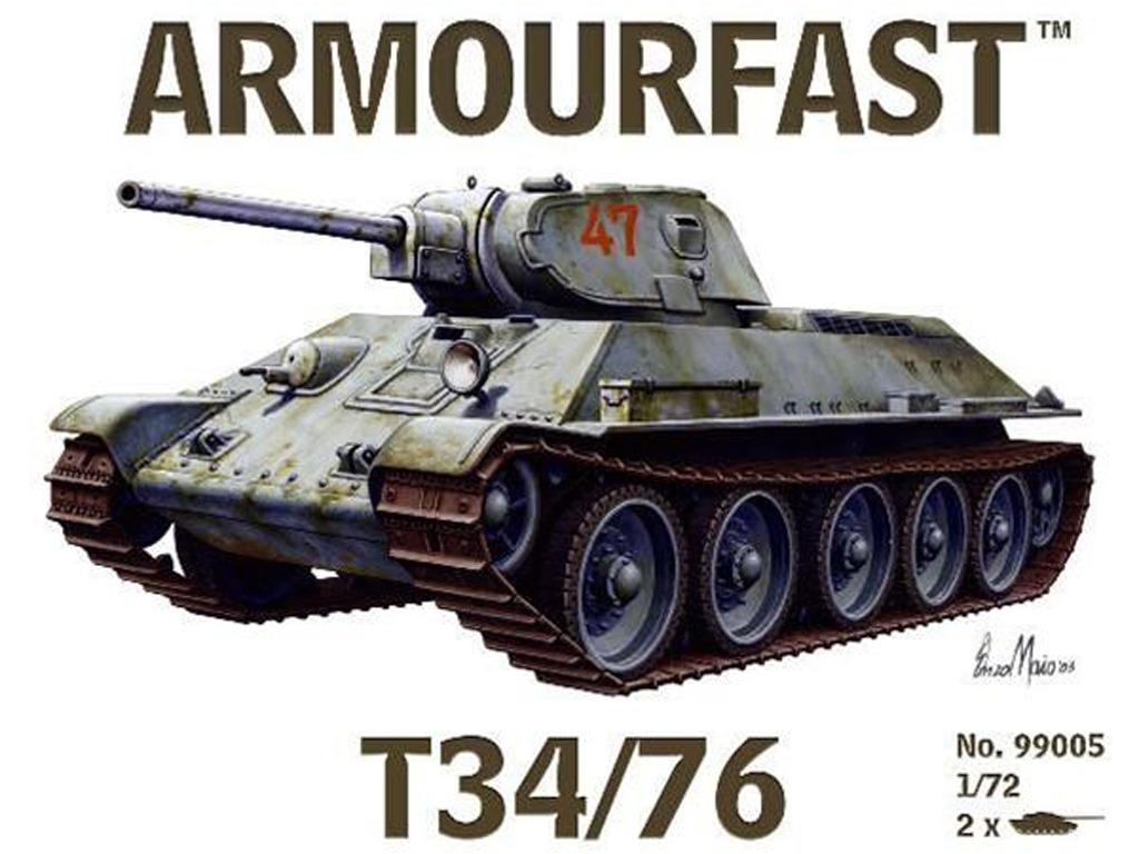 T-34/76 Russian tank   (Vista 1)