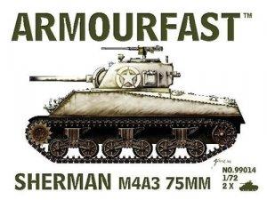 U.S. M4 A3 Sherman Tank 75mm   (Vista 1)