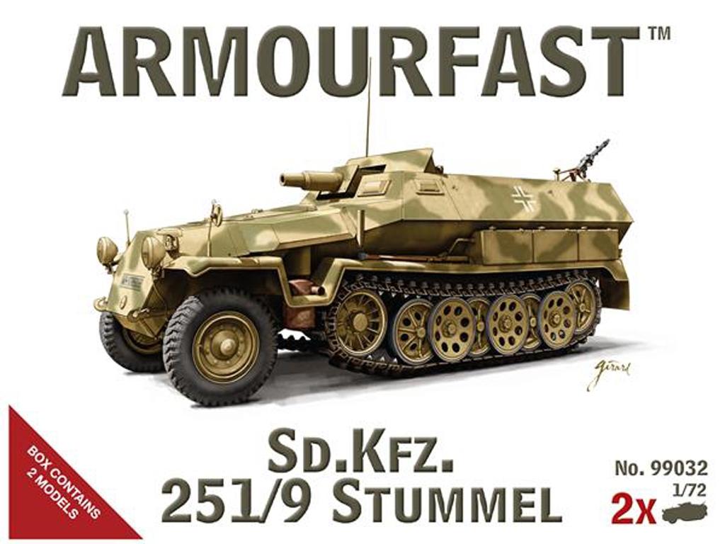 SD.Kfz 251/9 Stummel  (Vista 1)