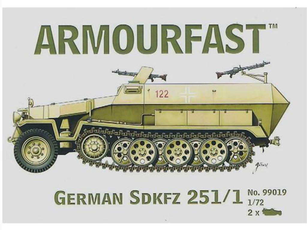 German Sdkfz 251/1  (Vista 1)