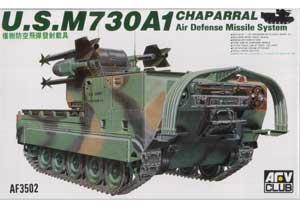 Lanzacohetes USA M730A1 Chaparral  (Vista 1)
