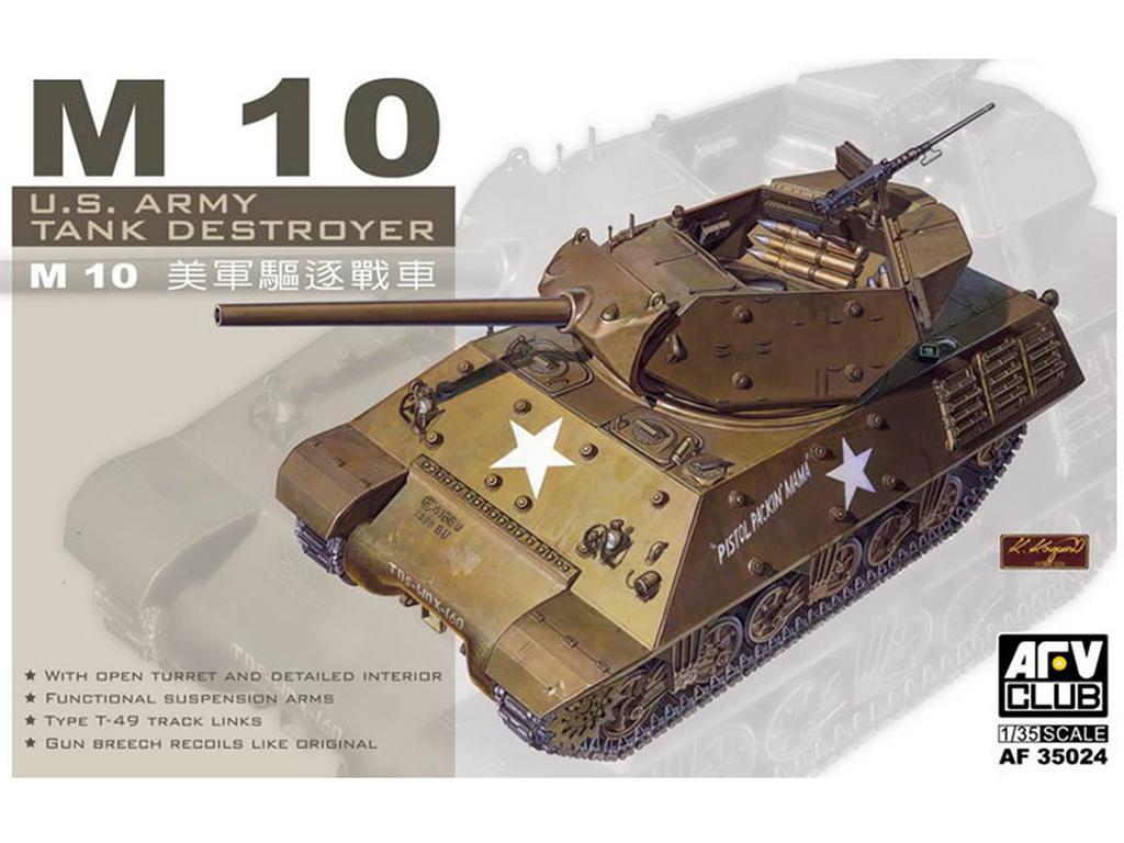 M10 TANK DESTROYER - Ref.: AFVC-35024