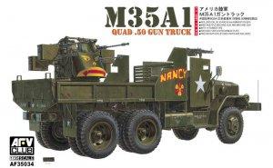 US M35A1 Quad-.50 Gun Truck - Ref.: AFVC-35034
