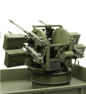US M35A1 Quad-.50 Gun Truck  (Vista 4)