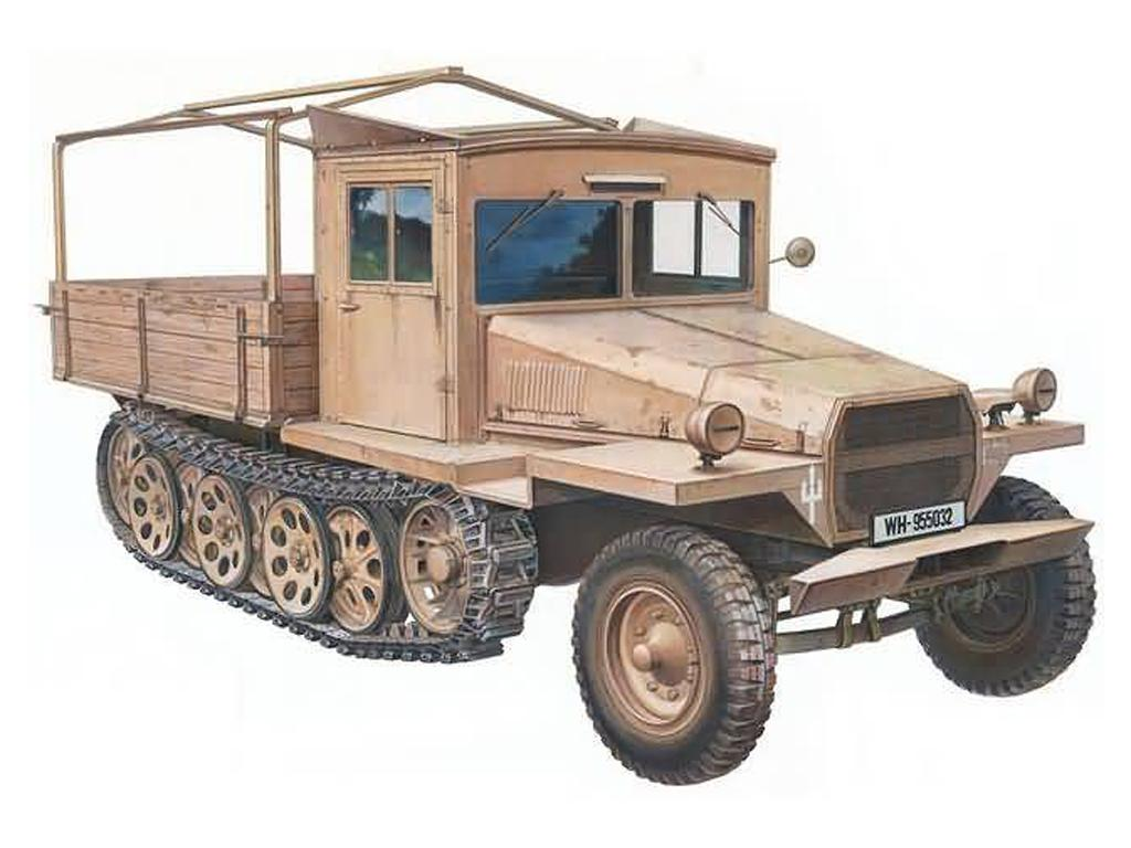 German 3 Ton Half-Track Sd.Kfz.11 Late M