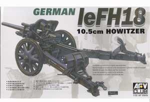 Cañon Aleman 10.5cm leFH18 Howitzer  (Vista 1)
