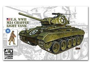U.S. WWII M24 Chaffee Light Tank  (Vista 1)