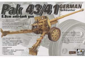 German 88mm AT Gun PAK 43/41 - Ref.: AFVC-35059