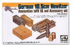 Municione10.5cm obus alemán leFH18   (Vista 1)