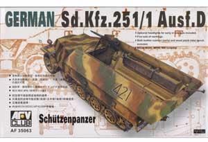 German Schutzenpanzer Sd.Kfz. 251/1 Ausf - Ref.: AFVC-35063