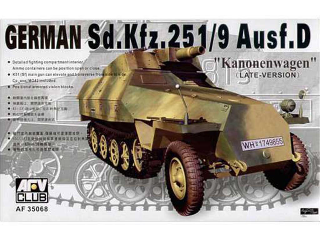 German 251/9 AuSF.D - Ref.: AFVC-35068