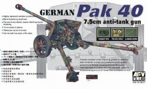 Cañon Aleman antitanque de 75 mm - Ref.: AFVC-35071