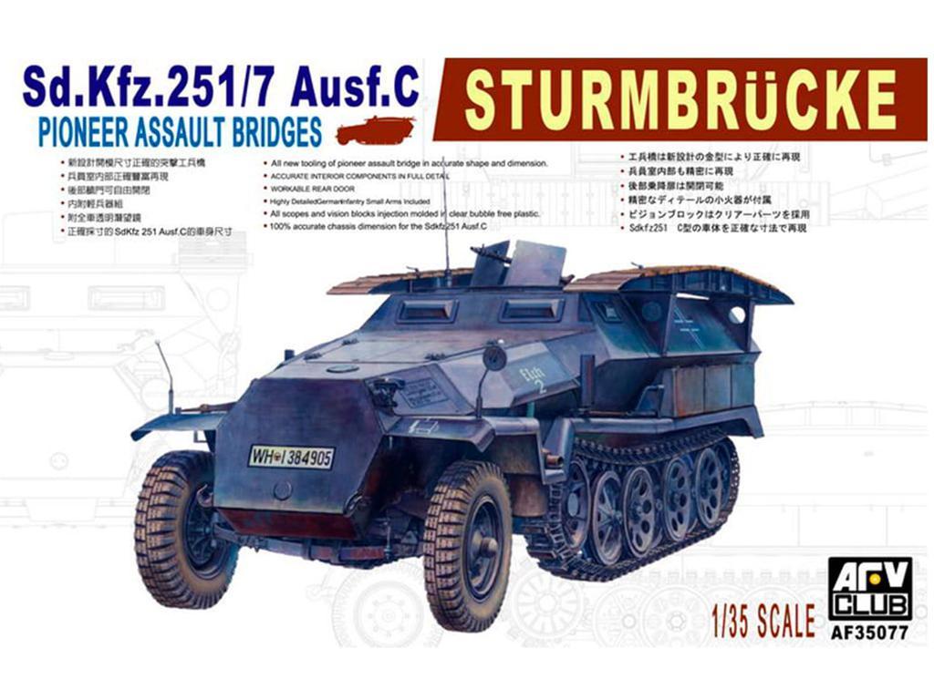 Sd.Kfz. 251/7 Ausf.C - Ref.: AFVC-35077