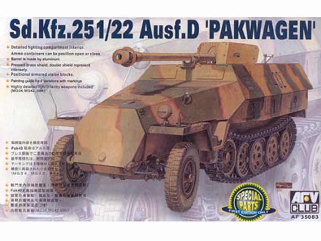 Sd. Kfz. 251/22 C - Ref.: AFVC-35083