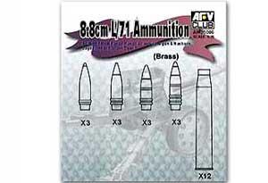 GERMAN 8.8cm/L71 AMMUNITION  (Vista 1)
