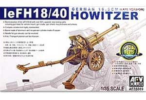 Obus alemán IeFH18/40 10.5cm versión  - Ref.: AFVC-35089