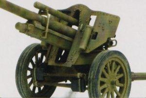 Obus alemán IeFH18/40 10.5cm versión   (Vista 3)