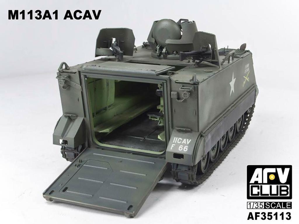 Ecomodelismo  M113 ACAV