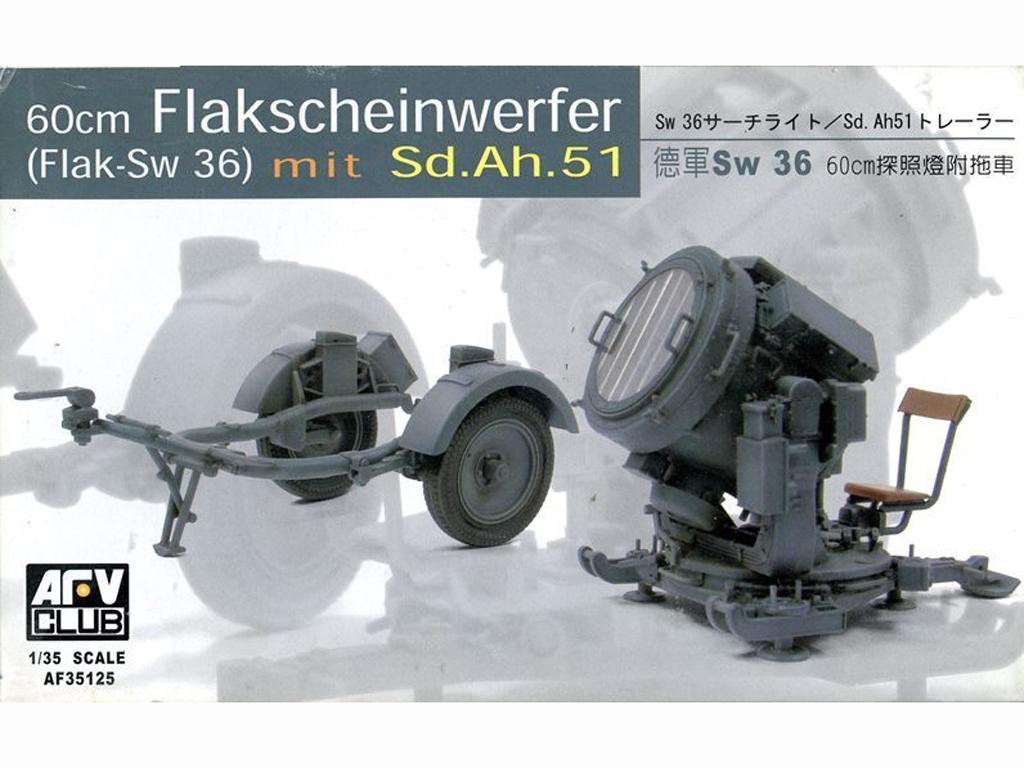 Flak-Sw 36 mit Sd.Ah.51 - Ref.: AFVC-35125
