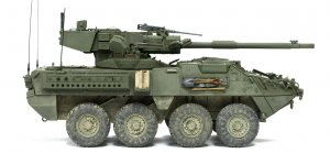 M1128 STRYKER MGS Mobile Gun System  (Vista 4)