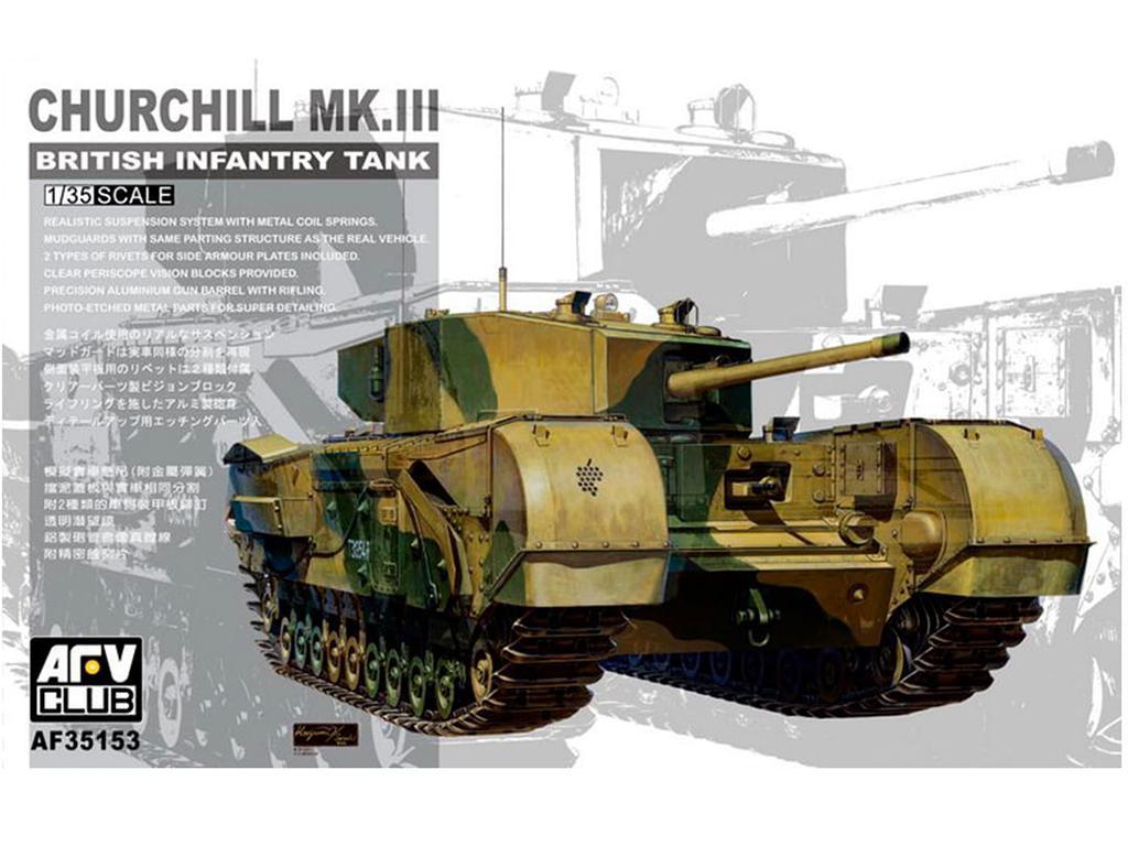 Churchill Mk.III - Ref.: AFVC-35153