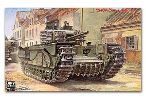 Churchill Mk Iv Mk5 L/50 6 Pounder Gun   (Vista 1)