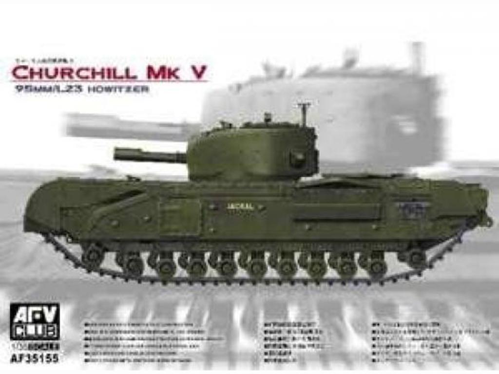 Churchill Mk.V 95MM/L23 Howitzer   (Vista 1)