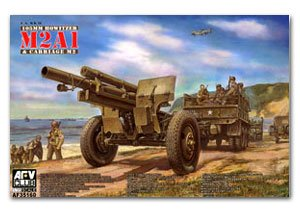 Howitzer 105mm M2A1 & Carrier M2