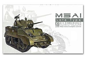 M5A1 Stuart late Type  (Vista 1)