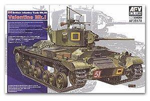 British Infantry Tank Valentine Mk.I  (Vista 1)
