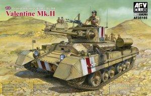 British Infantry Tank Valentine Mk.II   (Vista 1)