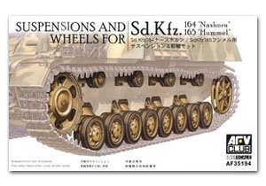 Suspensions & Wheels for Sd.Kfz.164