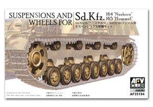 Suspensions & Wheels for Sd.Kfz.164   (Vista 1)