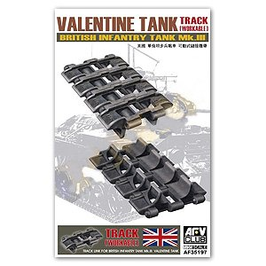 Workable Tracklinks for Valentine Mk.III