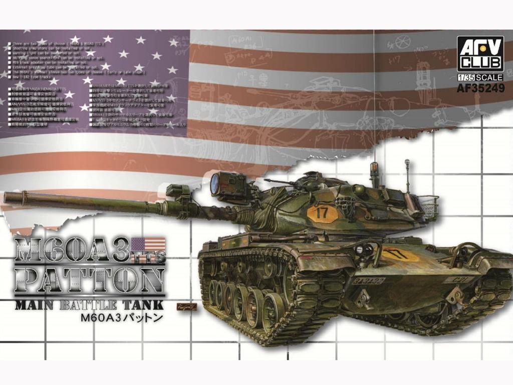 M60A3 Patton TTS  (Vista 1)