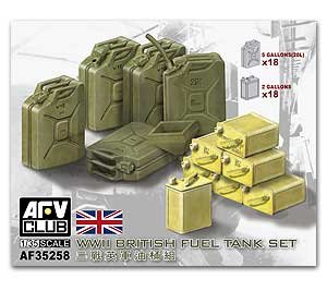 British Fuel Tank Set  (Vista 1)