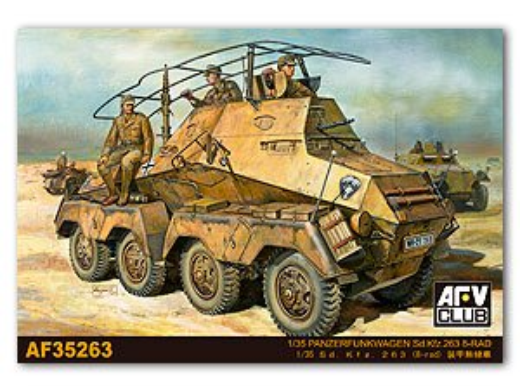 Panzerfunkwagen Sd.Kfz.263 8 Rad  (Vista 1)