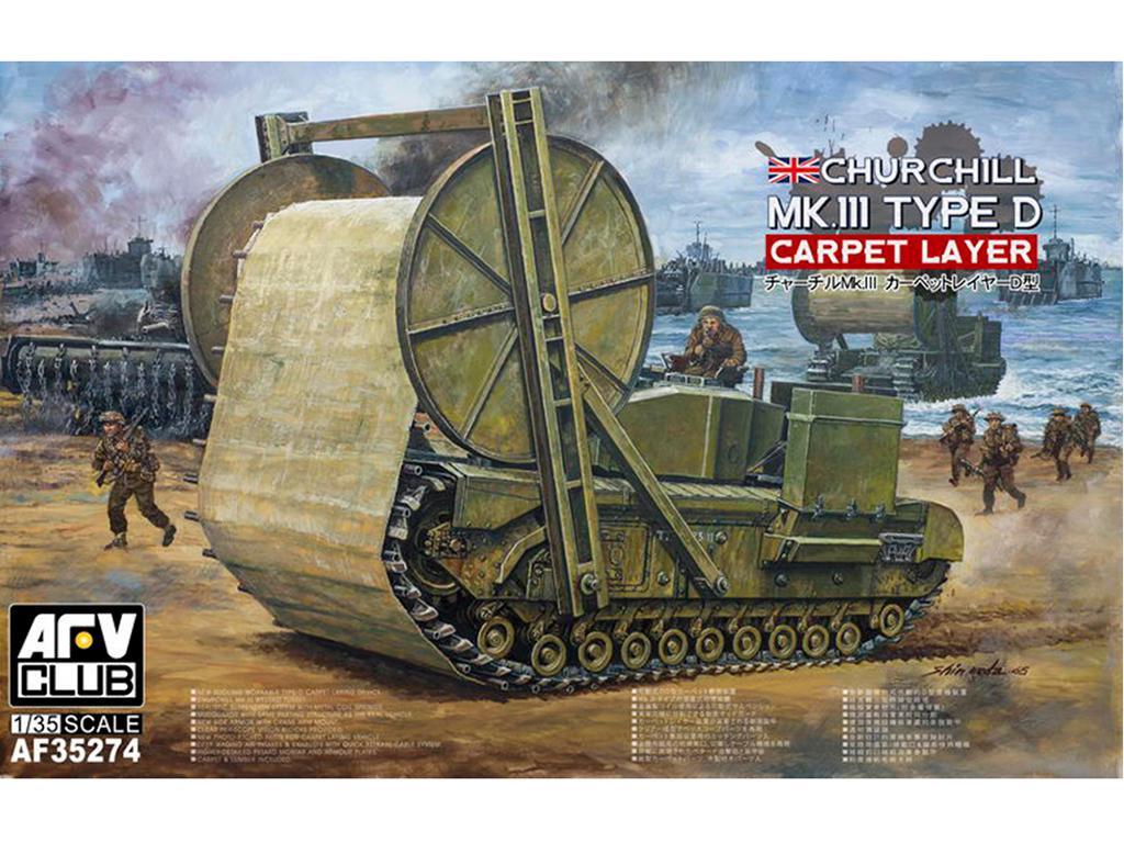Churchill Carpet Layer (Type D) Mark III  (Vista 1)