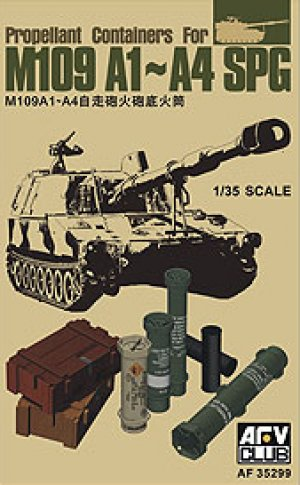 Propellant Containers For M109 A1~A4 SPG  (Vista 1)