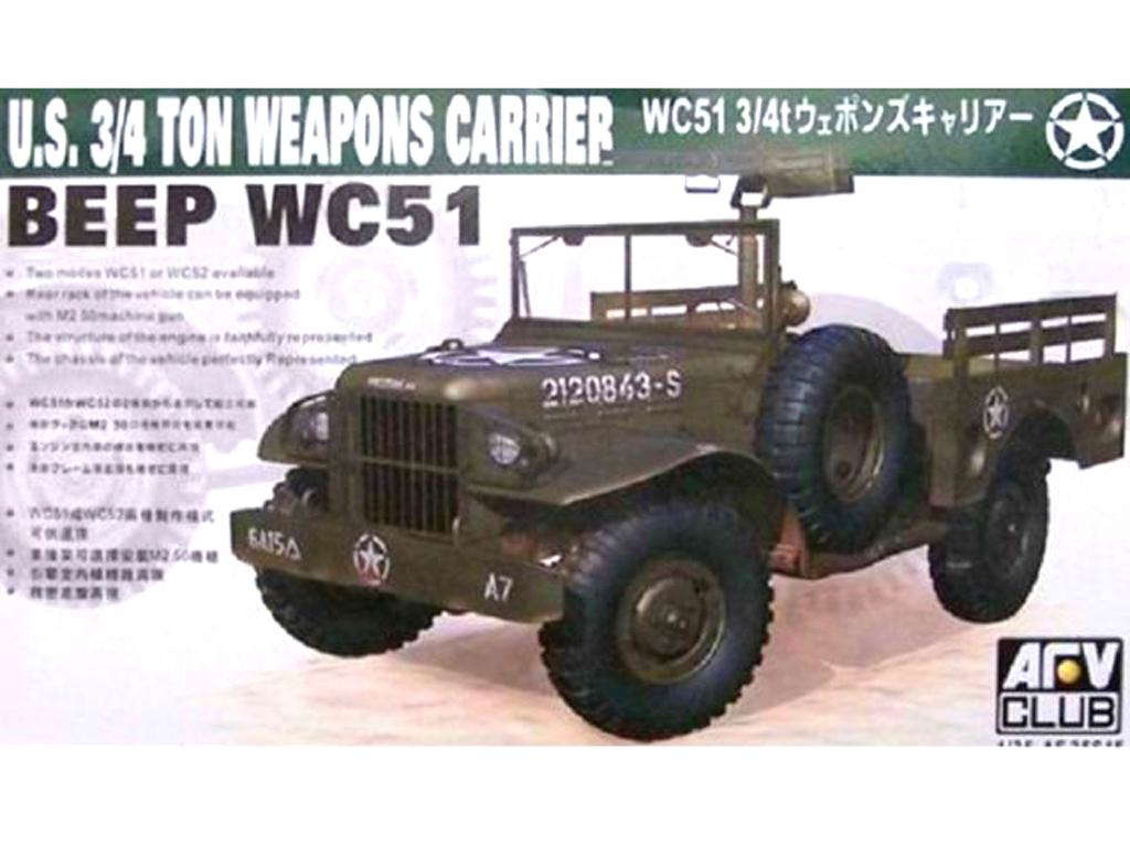 WC51 3/4ton Weapon Carrier