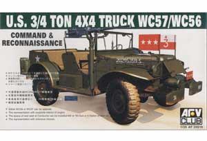 U.S. 3/4 Ton 4x4 Truck WC57/WC56  (Vista 1)