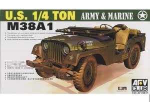 M38A1 1/4 ton Utility Truck  (Vista 1)