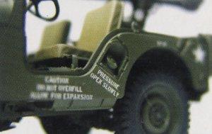U.S. M38A1C 1/4 ton 4x4  (Vista 4)
