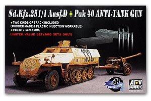 Sd.Kfz.251/1 Ausf.D + Pak 40 - Ref.: AFVC-35S26