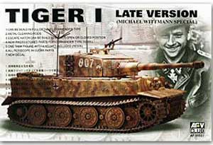 Tiger I Late Version Michael Wittmann Sp - Ref.: AFVC-35S27