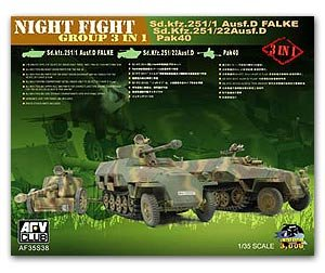 German Night Fight Group 3 in 1 - Ref.: AFVC-35S38