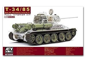 T-34/85 Model 1944, 1945 Production, Fac