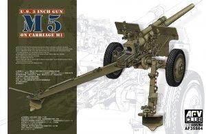 U.S. 3 inch Gun M5 On Carriage M1  (Vista 1)