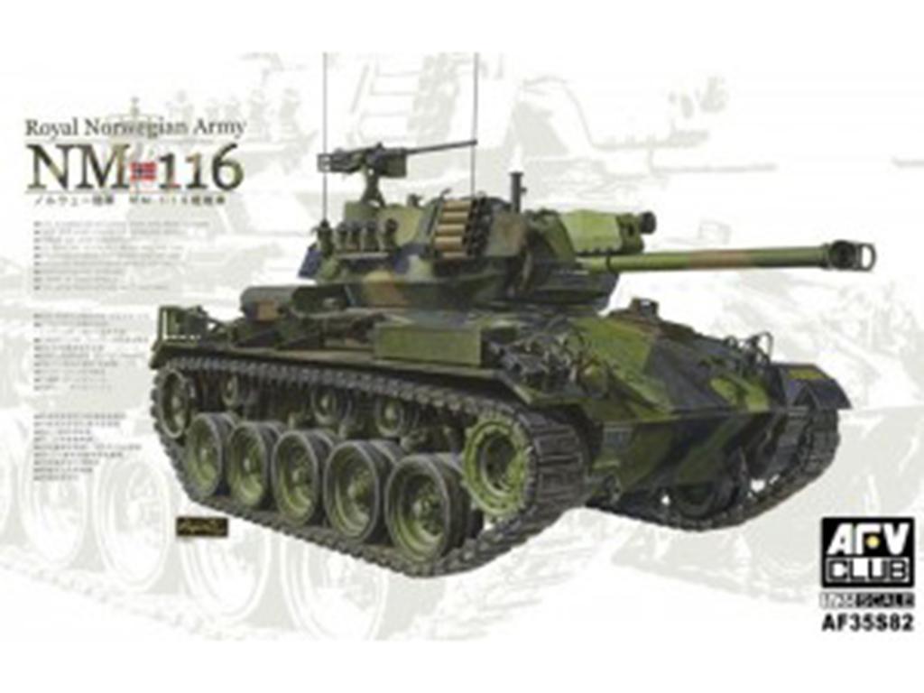 NM 116 Royal Norwegian Army - Ref.: AFVC-35S82